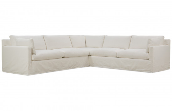 Sylvie Slipcover Sectional Sofa